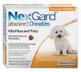 NexGard kills fleas and ticks in all breeds of extra small dogs