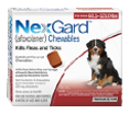 NexGard kills fleas and ticks in all breeds of large dogs