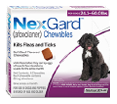 NexGard kills fleas and ticks in all breeds of medium dogs