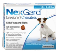 NexGard kills fleas and ticks in all breeds of small dogs